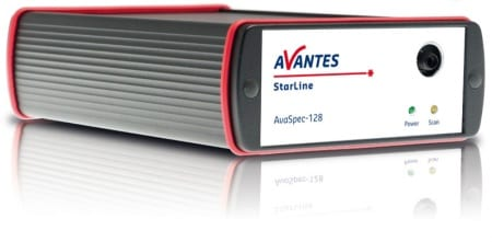 Avantes StarLine : AvaSpec-128 Ultrafast Fiber Optic Spectrometer