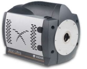 Andor Ixon Ultra 897 EMCCD Camera exclusively for Fluorescence Microscopy