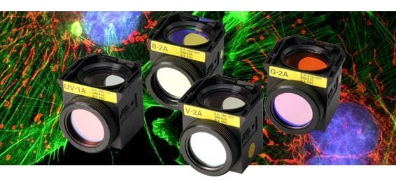 Fluorescent Filter Cubes for Epi-Fluorescence Microscope