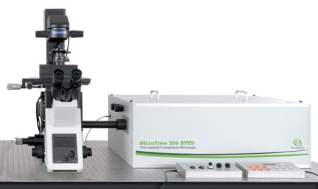 PicoQuant Time-resovled Confocal Fluorescence Microscope – MT200 STED