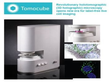 Authorized Distributor for Tomocube. Inc
