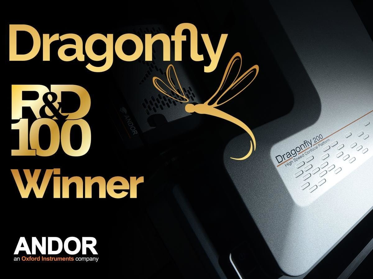 Andor Dragonfly Scoops R&D 100 Award