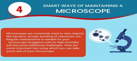 Infographic: Tips To Maintain A Microscope
