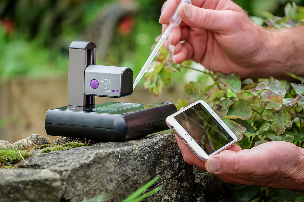 ioLight – Portable microscope 2mm field of view