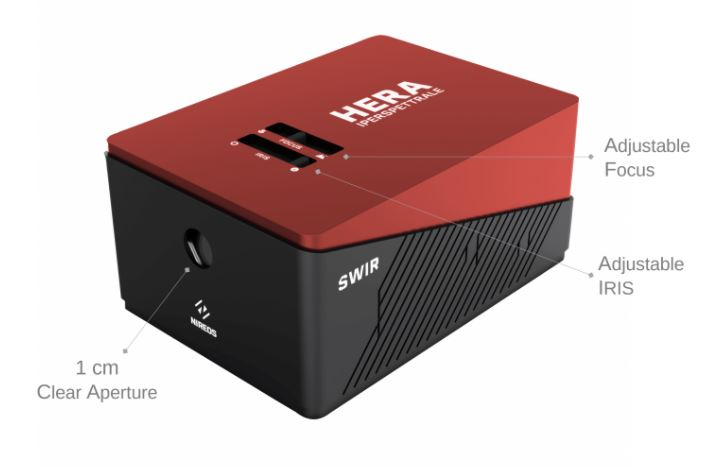 NIREOS – HERA SWIR (900-1700 nm) Hyperspectral Camera